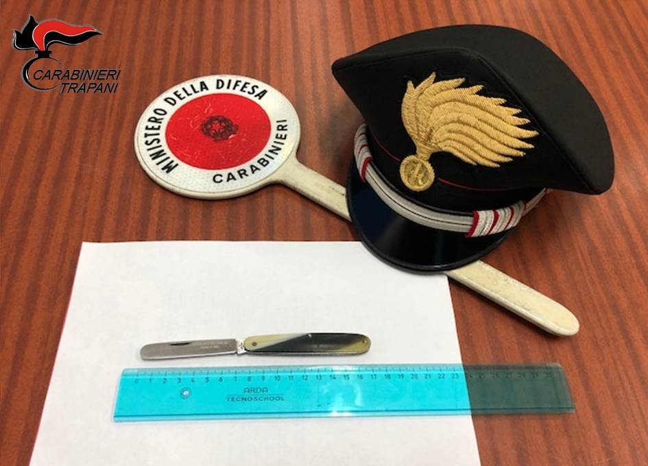Trapani. Omicidio D'Aguanno: ritrovata dai carabinieri l'arma del delitto