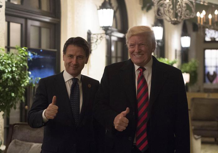 Trump su Conte: il popolo italiano ha fatto bene