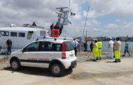 Mazara. Ammaraggio di emergenza in mare. Esercitazione complessa della Guardia Costiera