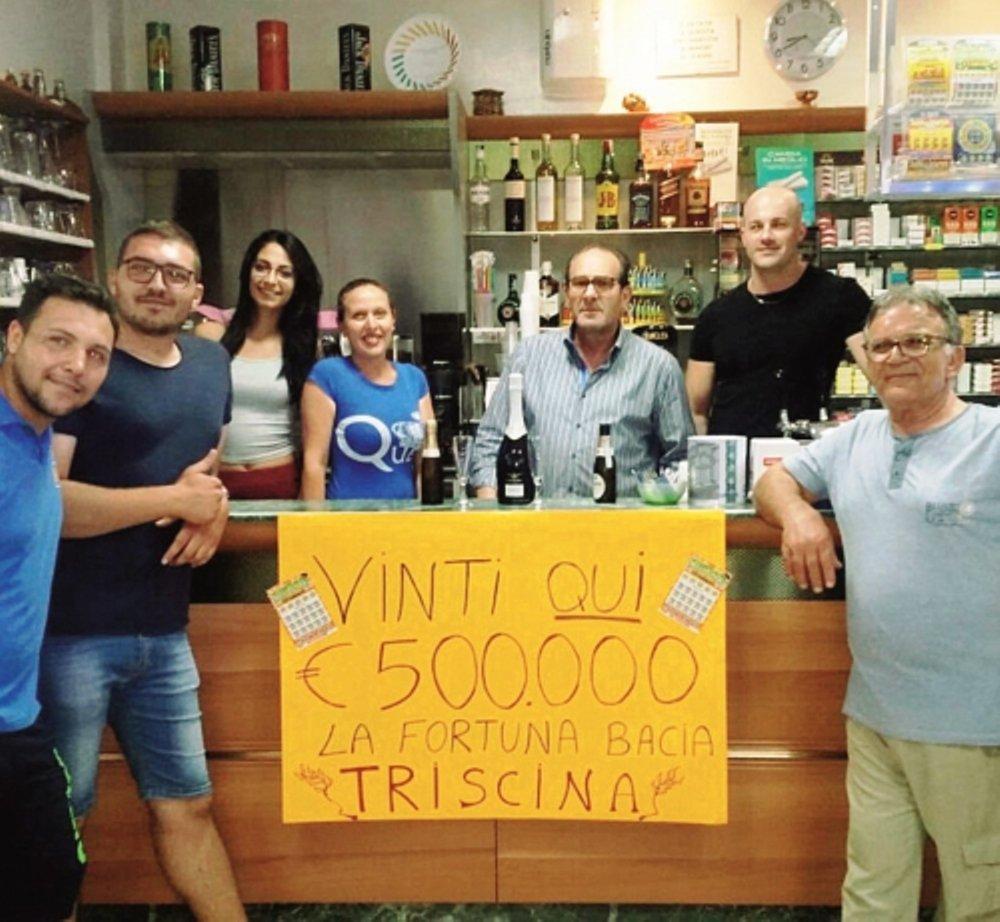 La fortuna bacia Triscina: vinti 500 mila euro al