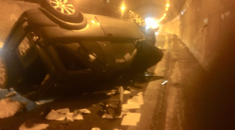 Incidente con un morto e quattro feriti