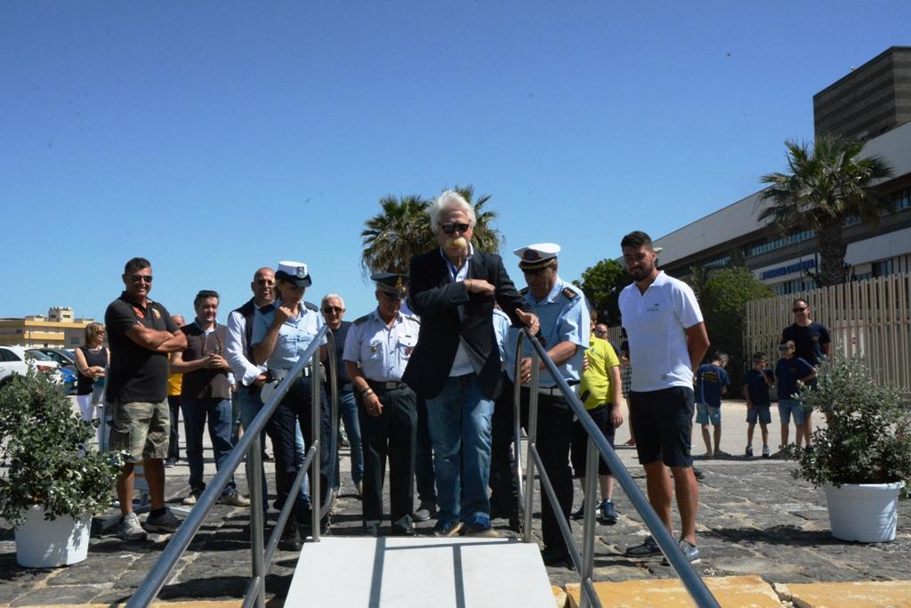 Mazara. Cerimonia inaugurale dell'imbarcazione Intrepido per le mini crociere Mazara-Favignana-Levanzo