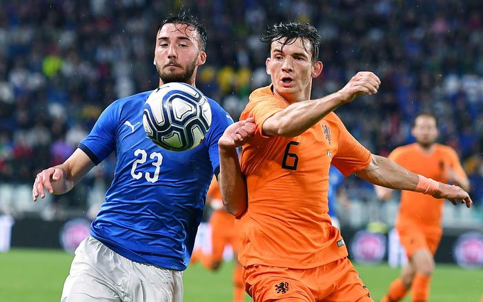 Italia-Olanda 1-1, primo pareggio di Mancini