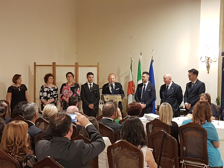 """Cerimonia di """"passaggio della Campana"""" per il rinato Lions Club Mazara del Vallo """"Fata Morgana"""""""