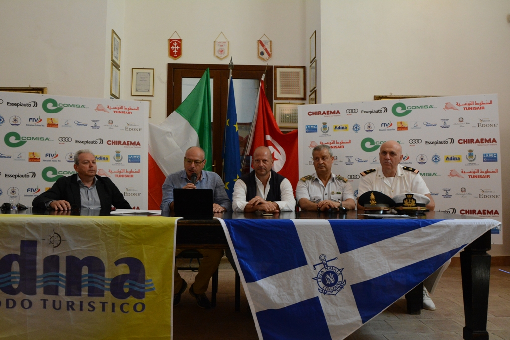 Mazara. Presentazione Trofeo Velico d'Altura EurAfrica 2018