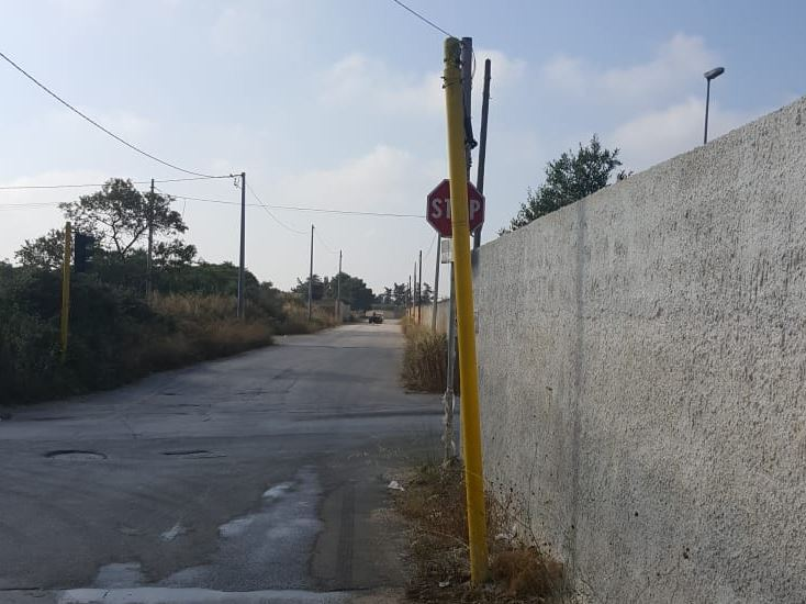 Mazara. Rubato il semaforo dell'incrocio Via Salemi-Via Rosario Ballatore
