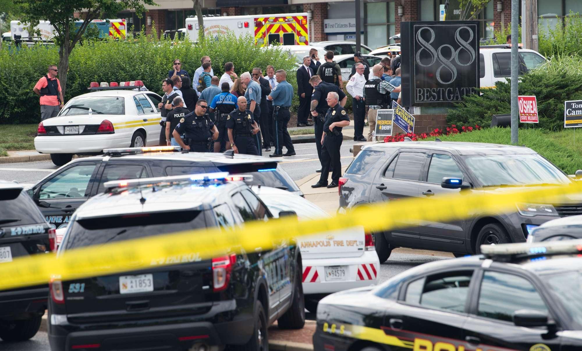 Usa, sparatoria in una redazione del Maryland: almeno 5 morti, un arresto