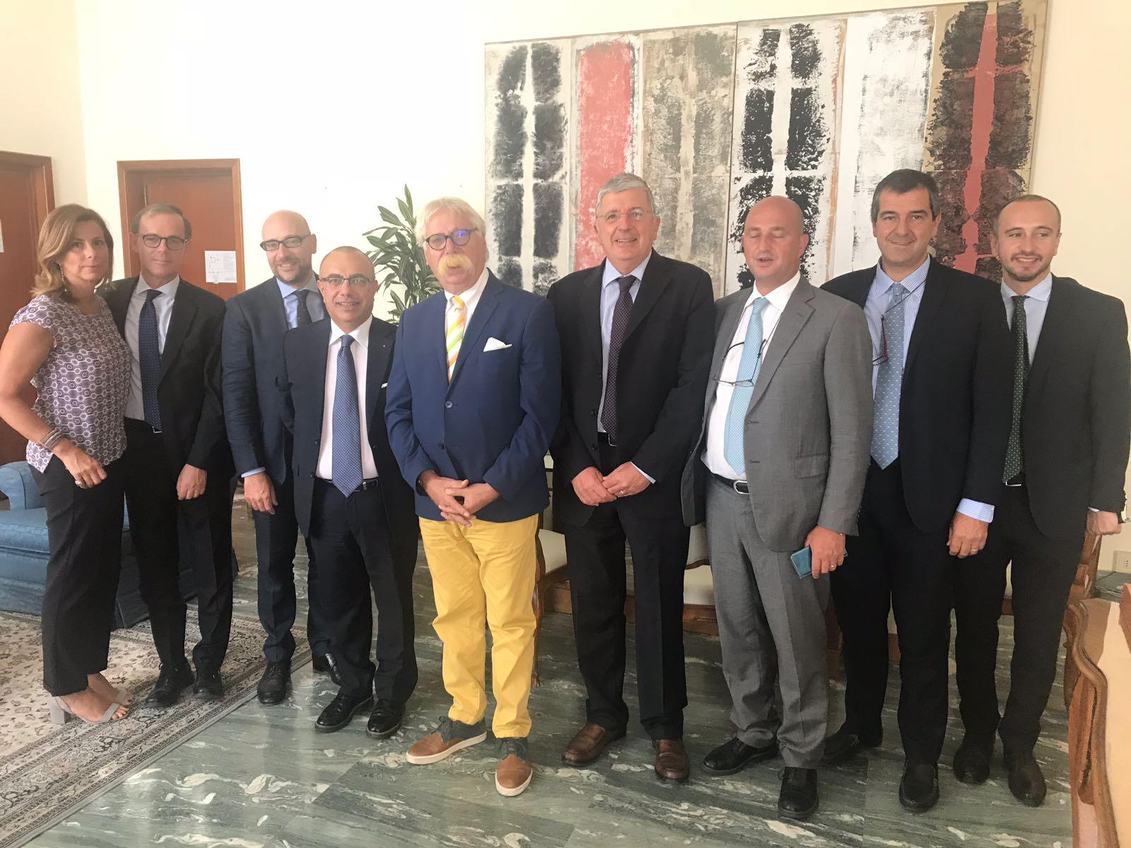 Blue Sea Land 2018, riunione operativa alla Farnesina