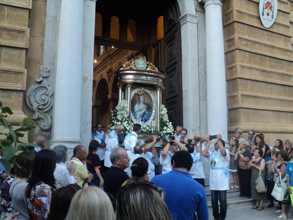 Mazara. Mercoledì 4 Luglio processione della Madonna del Paradiso. Ordinanza regolamentazione traffico