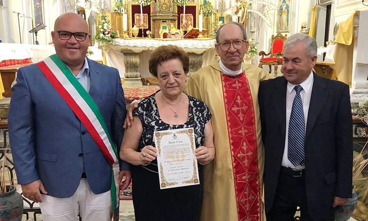Mazara, Nozze D'Oro per i coniugi Falco Margiotta