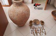 Mazara. Un arresto per detenzione illegale di arma da fuoco clandestina, munizionamento ed oggetti archeologici