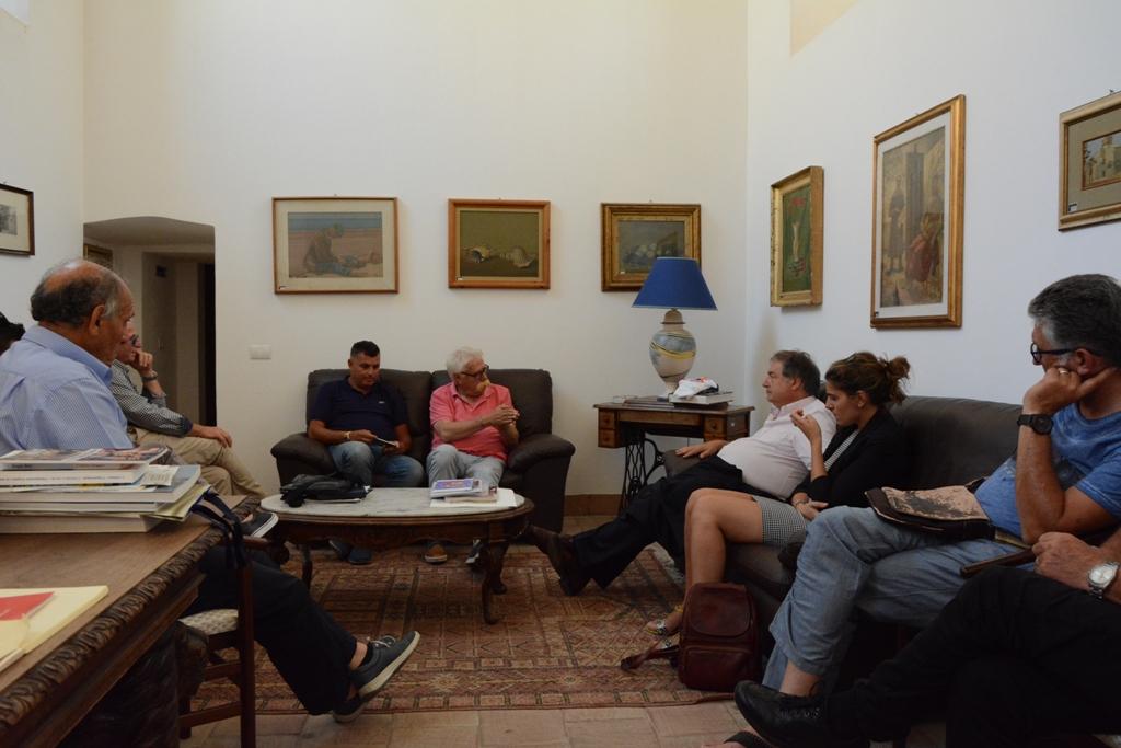 Mazara. Incontro tra il Sindaco Cristaldi e il presidente di Federpesca Giannini