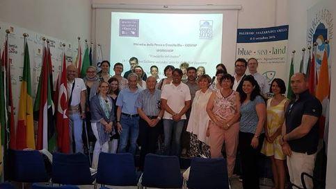 Mazara. Delegazione Europea in visita al Distretto per studiare il modello del cluster e della blue economy