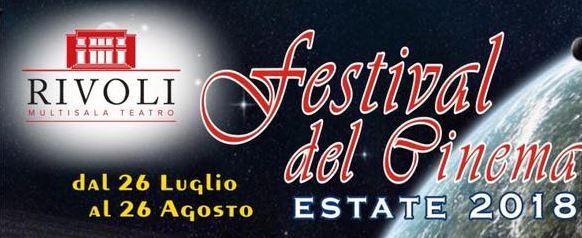 Mazara. FESTIVAL DEL CINEMA D'ESTATE 2018. Da oggi, 26 Luglio e sino al 26 Agosto ogni sera alle 21,30