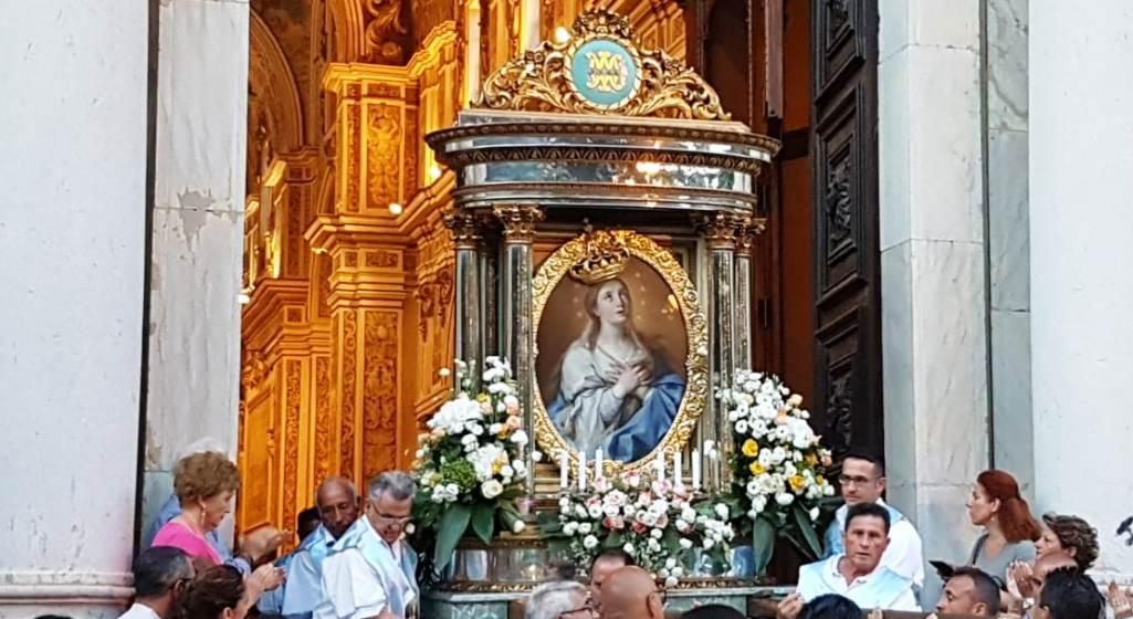 Mazara. In migliaia alla processione conclusiva dei festeggiamenti della Madonna del Paradiso