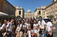 Mazara. I Giovani dell'Azione Cattolica della Parrocchia Sacro Cuore in Santa Maria di Gesù hanno partecipato a Roma al Sinodo Giovani