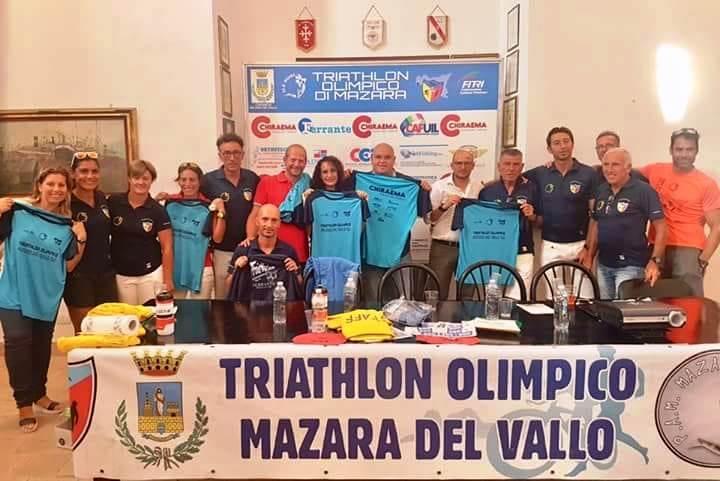 Domenica 2 settembre Triathlon Olimpico Mazara del Vallo. Dalle 8,30 alle 14. Interessato il lungomare che sarà chiuso al traffico