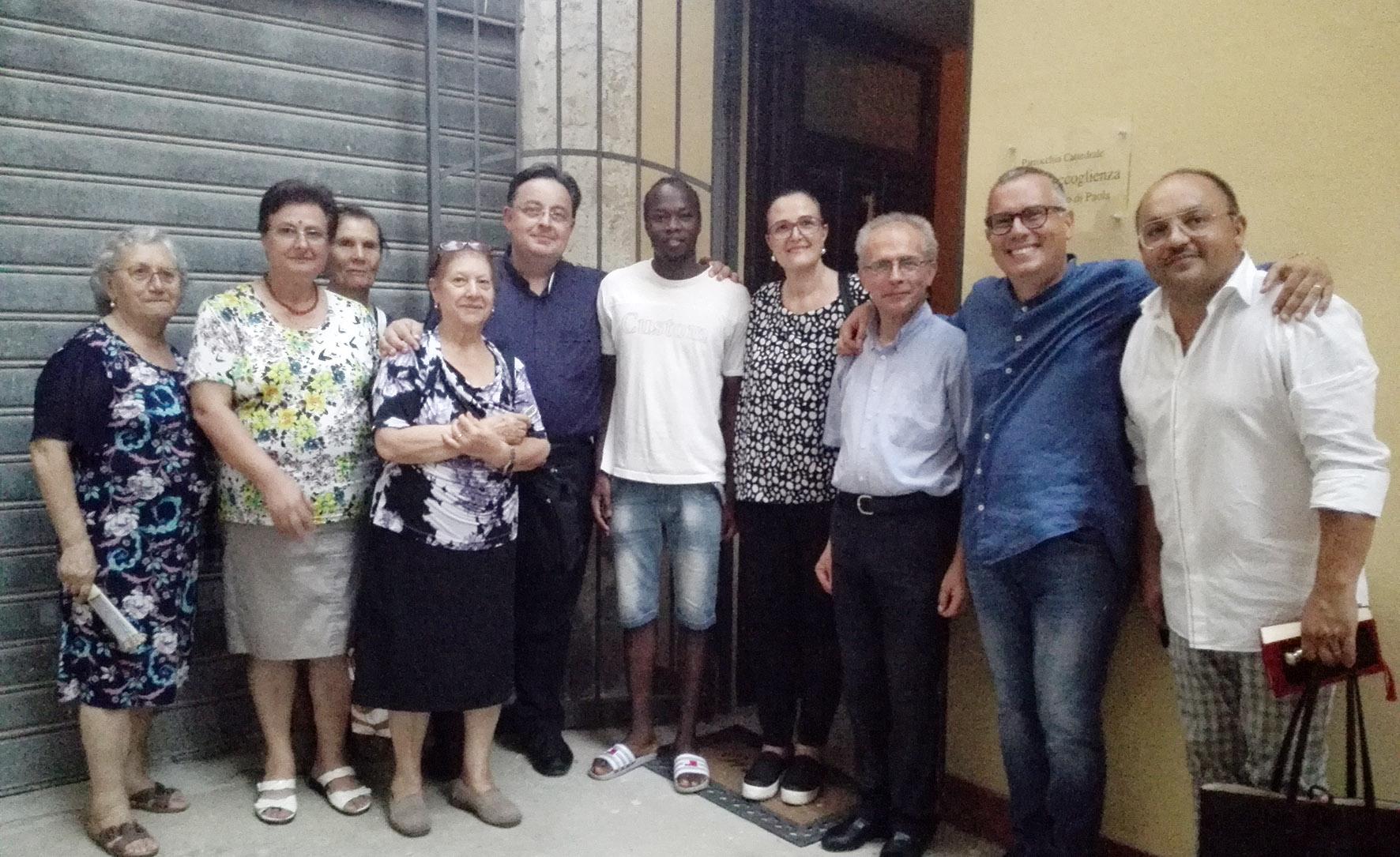 Mazara. Nella casa canonica ospitato un giovane migrante. Prima accoglienza in risposta all'appello del Papa