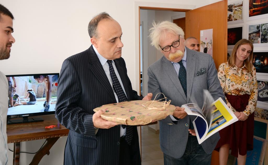 Mazara. Visita del ministro dei beni culturali Alberto Bonisoli