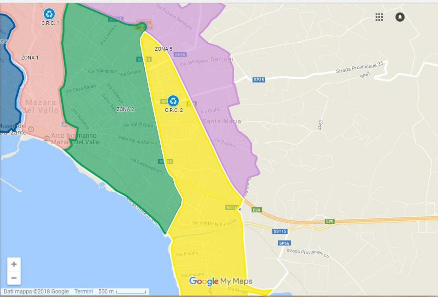 Mazara. Da domani, martedì 18 settembre, inizio servizio Porta a Porta raccolta differenziata Zona 5