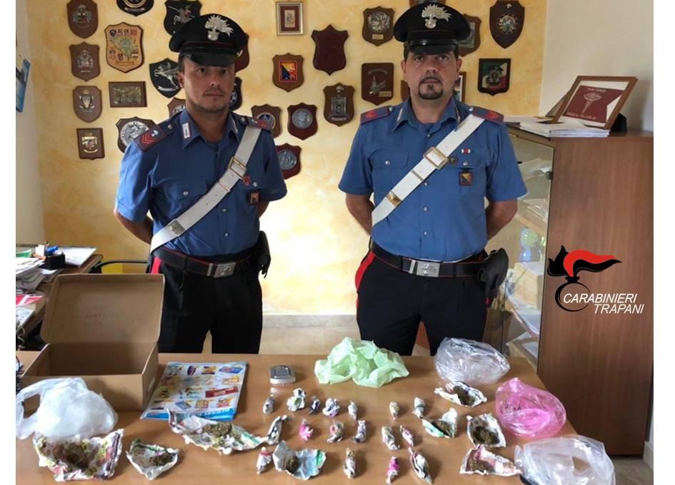 Campobello: Arrestato spacciatore mazarese