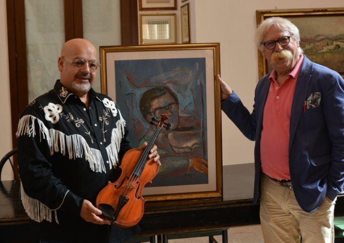 Mazara. Il Maestro Michele Ramo dona alla Città un violino