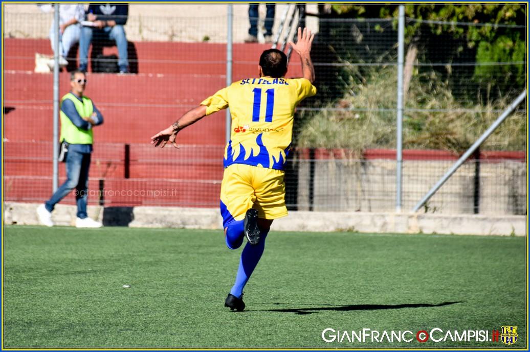 Nell'anticipo di campionato il Mazara batte fuori casa il Partinicaudace 0-2 con i gol dell'ex Settecase e Lamia