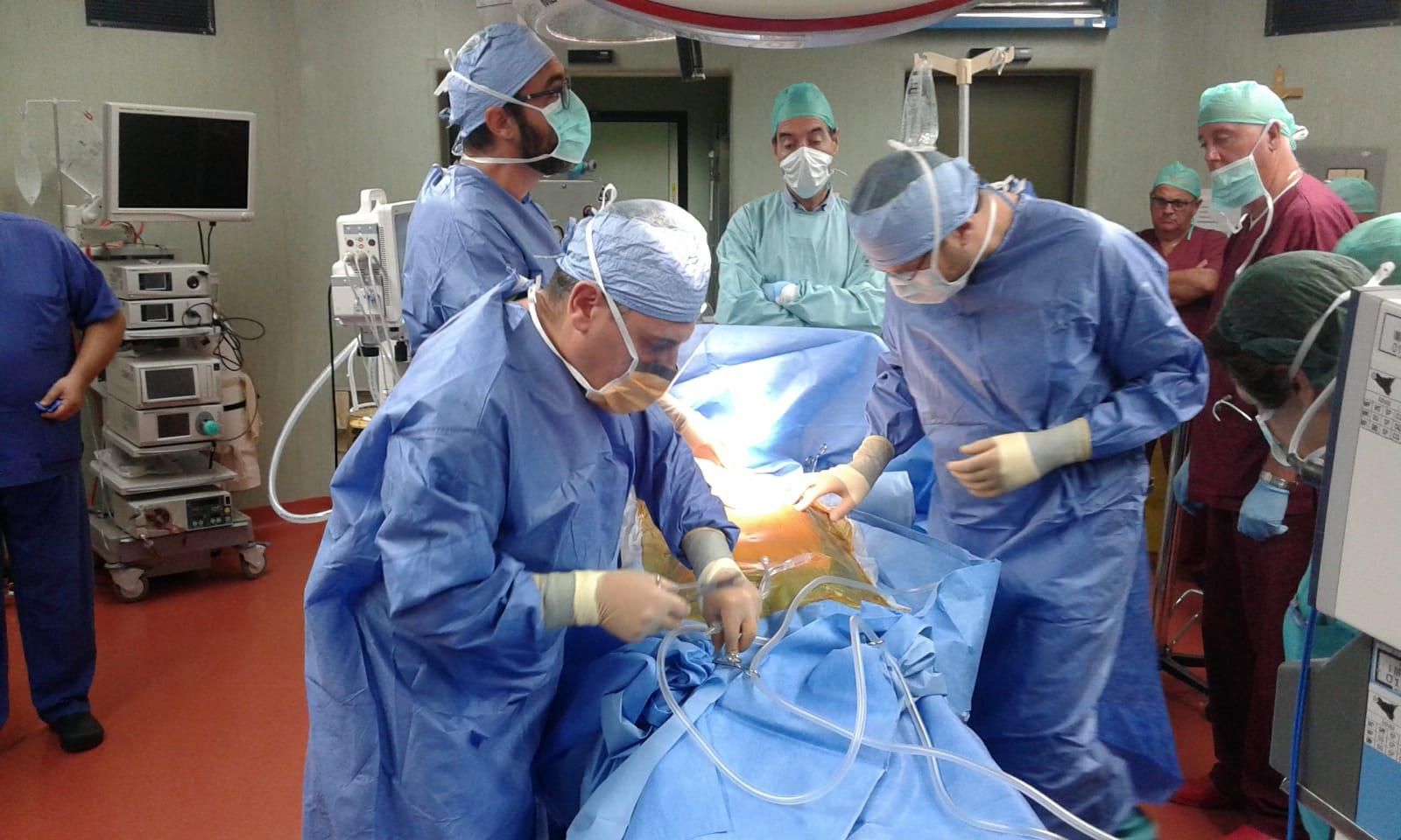 Primo intervento di prelievo di organi all'ospedale di Castelvetrano