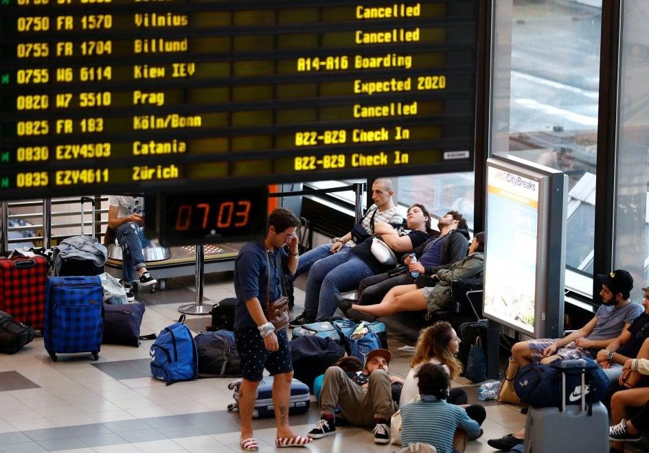 Ryanair, mercoledì sciopero in Germania