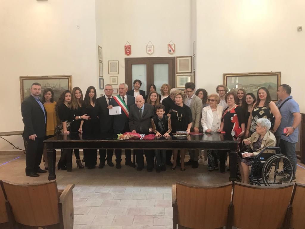 Mazara festeggia il suo nuovo centenario Vincenzo Calafato
