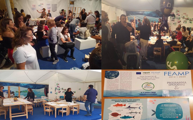 """Mazara. """"Blue Fish"""", il progetto per i più piccoli promosso dal MIPAAFT a Blue Sea Land"""