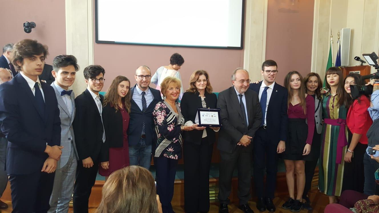 Al ministero della pubblica istruzione premiati gli studenti del Liceo Adria Ballatore di Mazara