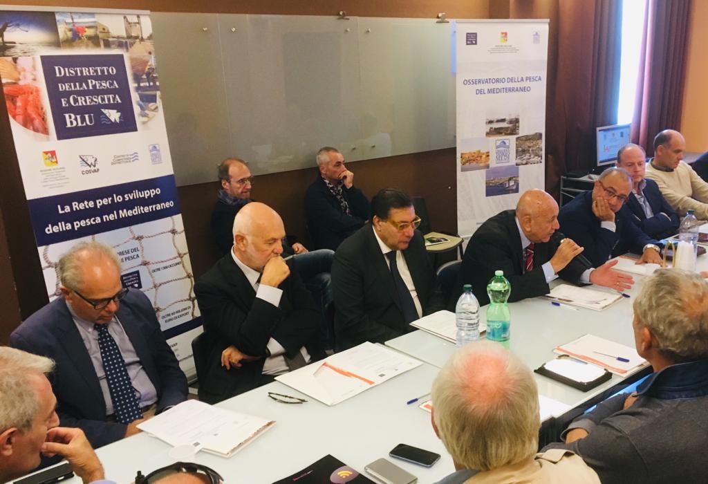 """""""Acquacoltura 2.0"""", a Enna riunione straordinaria dell'Osservatorio della Pesca del Mediterraneo"""