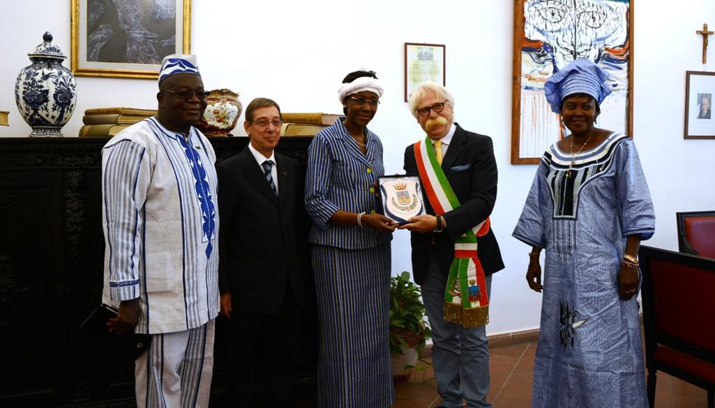 Mazara. Il Sindaco Cristaldi accoglie la delegazione del Burkina Faso
