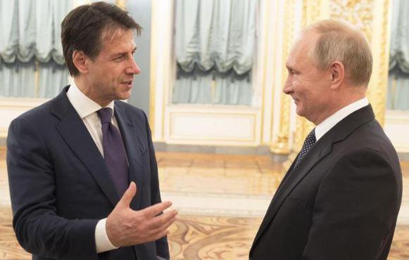 Conte invita Putin in Italia: 'Manca da troppo tempo'
