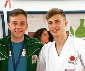 I mazaresi Vincenzo Cristaldi e Vito Margiotta all'Europeo di Karate a Malta