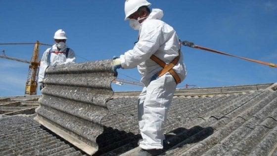 Amianto, in Sicilia 600 morti in un anno