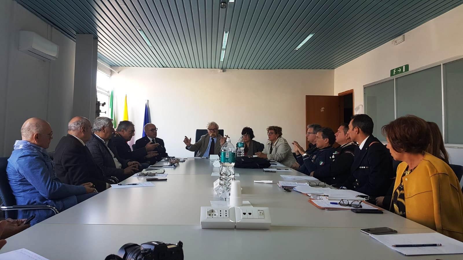 Mazara. Riunione operativa della protezione civile comunale per i danni del nubifragio