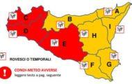 La prefettura e i comuni della provincia di Trapani hanno diramato l'allerta meteo rossa