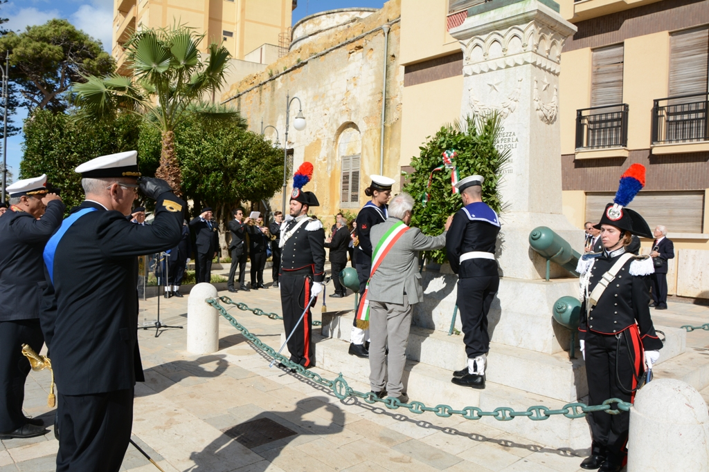 Mazara. Celebrata la giornata dell'Unità Nazionale, delle Forze Armate