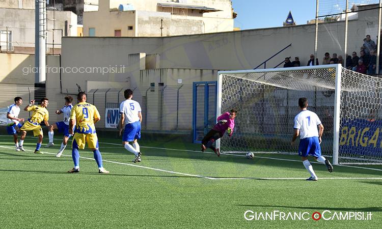 Mazara - Castellammare 1-1 I canarini sciuponi si fanno raggiungere nel finale