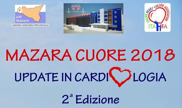 """Mazara. Venerdì 16 novembre la seconda edizione del congresso nazionale """"Update in cardiologia Mazara 2018"""""""