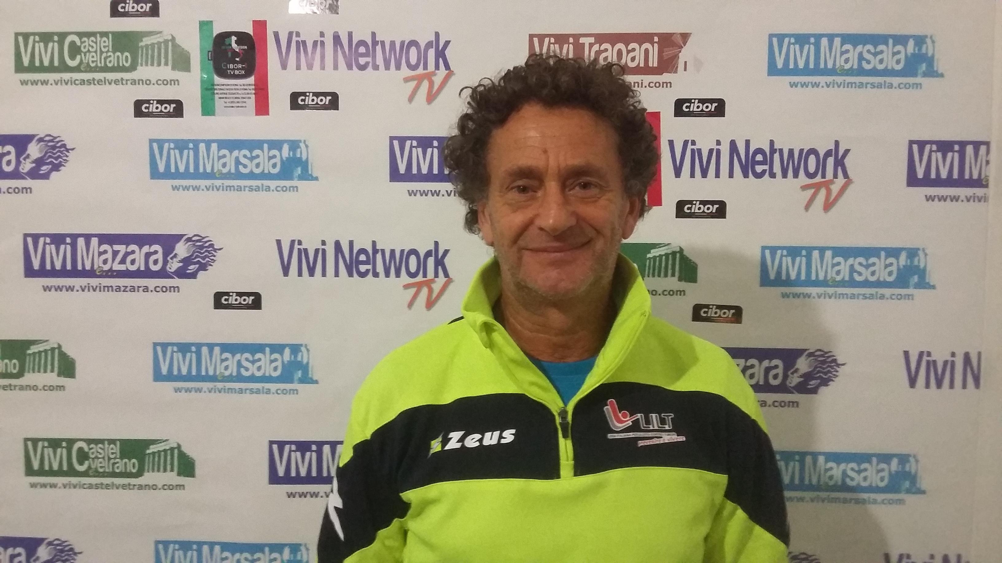 Mazara. L'atleta Pino Pomilia alla Firenze Marathon (Video intervista)