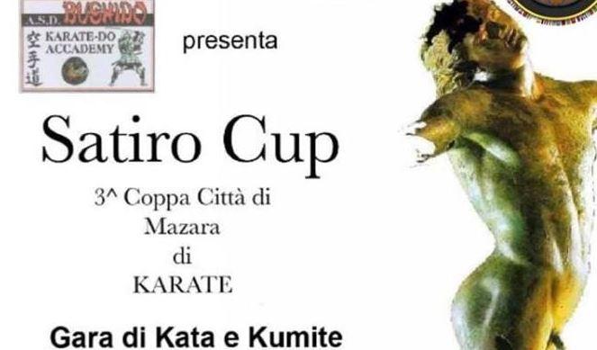 COPPA CITTA' DI MAZARA DI KARATE '3° SATIRO CUP'