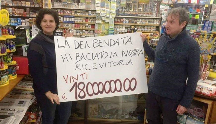 Vincita con l'EuroJackpot a Valledolmo: centrato un 5+2 da 18 milioni di euro