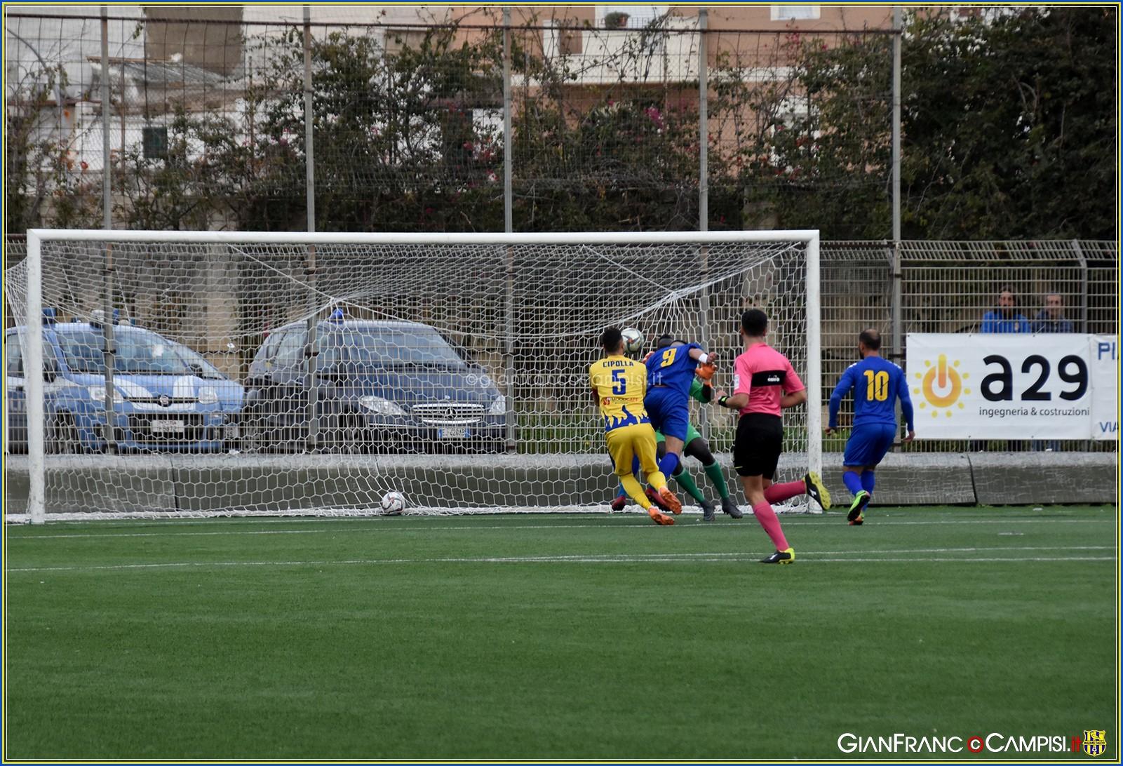 Al Nino Vaccara la capolista Licata batte il Mazara 2-0 e si laurea campione d'inverno