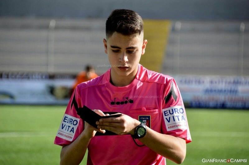 L'arbitro mazarese Giuseppe Fiandra debutta in Seconda Categoria