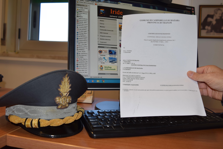"""Mazara: operazione """"Paraninfo"""", 11 denunce"""