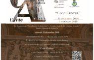 """Mazara: """"L'ARTE E LA SUA CONTEMPORANEITÀ NELLA SICILIA BAROCCA"""" venerdì 21 dicembre alle 19 inaugurazione al Civic Center"""