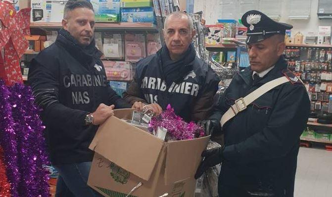Mazara. Operazione capodanno sicuro. Oltre 1400 articoli pericolosi sequestrati dai carabinieri